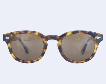 70fd5ba6bb Johnny Depp Sunglasses Polarised Horn Rim Optical Eyeglasses 48 24 Tortoise