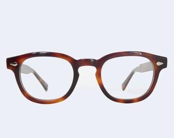 1cc12b79c0ca Tart Arnel Style Johnny Depp Horn Rim Optical Eyeglasses Demi Amber 45 22