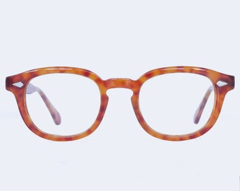 15260a09122 Johnny Depp Tart Arnel 46 24 Style Glasses Horn Rim Optical Eyeglasses Demi  Blonde
