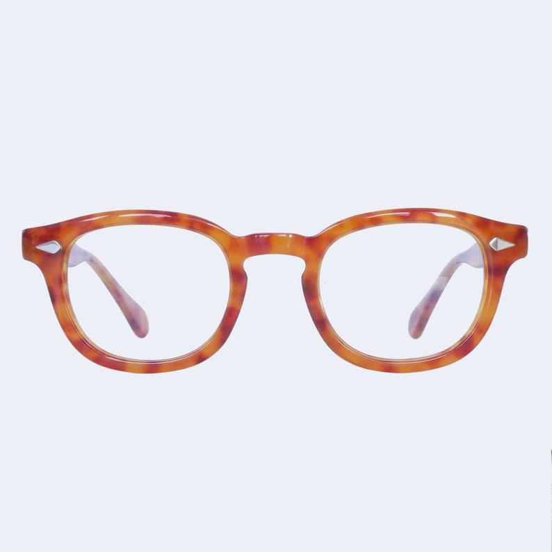 7ff986966d Johnny Depp Tart Arnel 44 24 Style Glasses Horn Rim Optical Eyeglasses Demi  Blonde