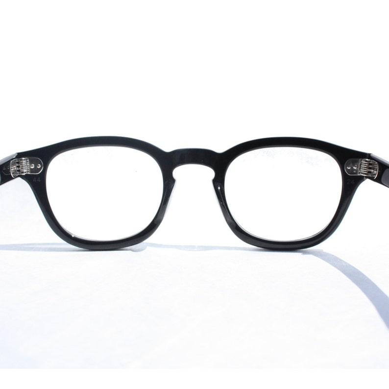 a1a91ae2c0 Johnny Depp Tart Arnel Style 44 24 Horn Rim glasses Optical