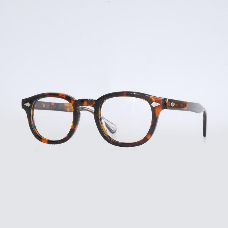 092e5516fb Johnny Depp Tart Arnel 44 24 Style Glasses Horn Rim Optical