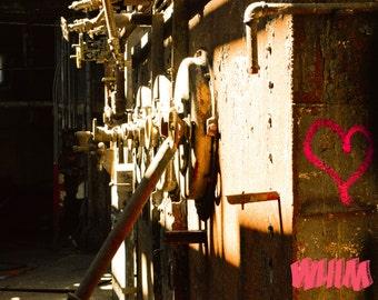 Industrial. Graffiti. Urban Art. Abandoned History. Urban Exploration. Photography.
