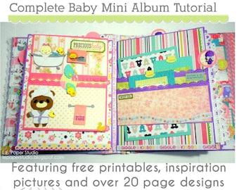 Baby album tutorial