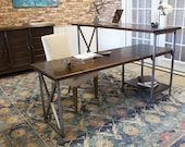Sit or Stand Corner L-Shaped Desk- Right Hand