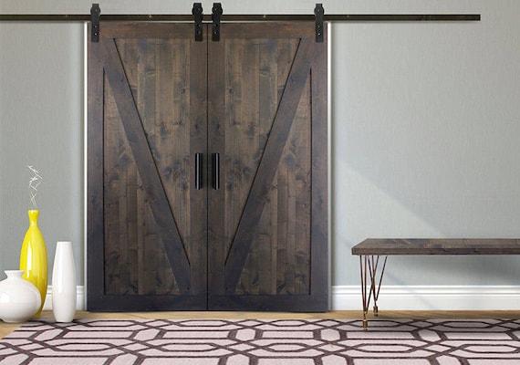 Z Barn Door Door Only Etsy