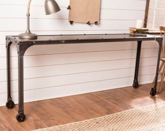 Factory Metal Sofa Table Console