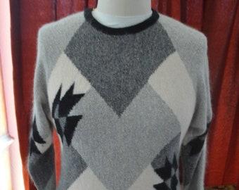 a8c261f90477e3 Vintage 80's Mohair Blend Sweater