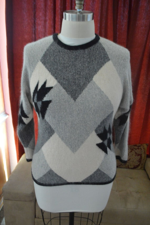 Vintage 80's Mohair Blend Sweater
