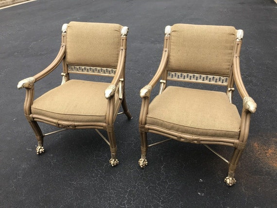Pair Of 2 Ferguson Copeland Napoleonic, Ferguson Copeland Furniture