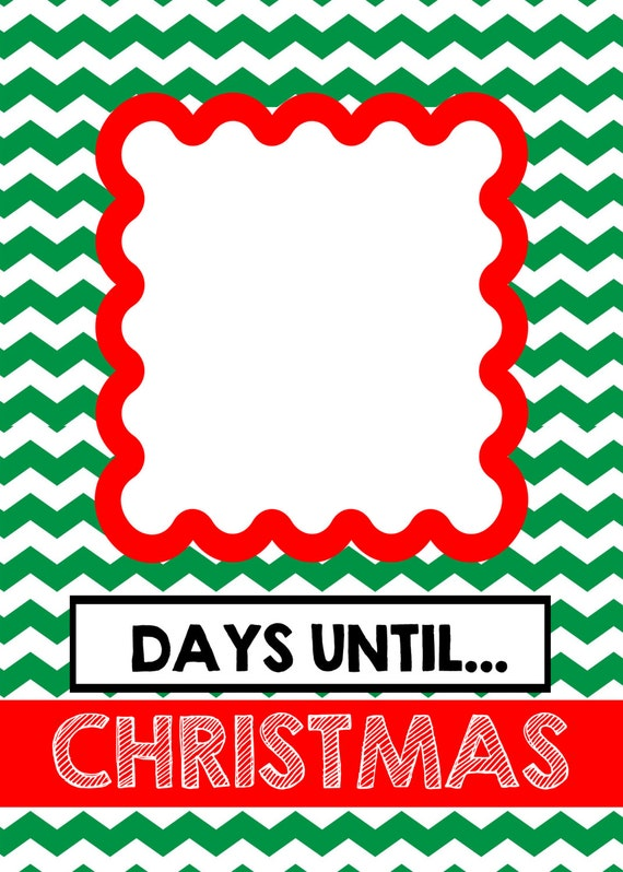 Days Until Christmas Printable.Free Printable North Pole Christmas And Days Until Merry Christmas