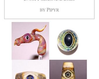 Eye Cane Soft Glass and Boro Borosilicate Flameworking Lampworking Tutorial by Pipyr