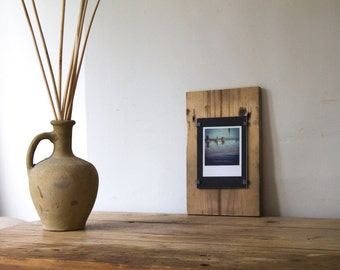 Handmade wood photo frame - unique photo frames - distressed picture frame - reclaimed wood photo frame - one of a kind - beach photo