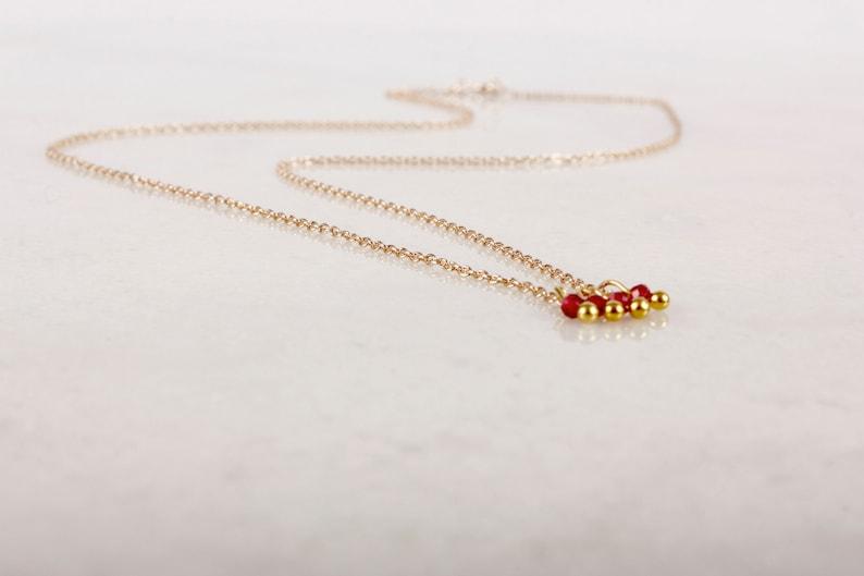 Razzle Dazzle Ruby Necklace