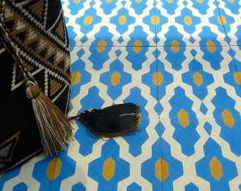 Beautiful cement tiles, Moroccan tiles