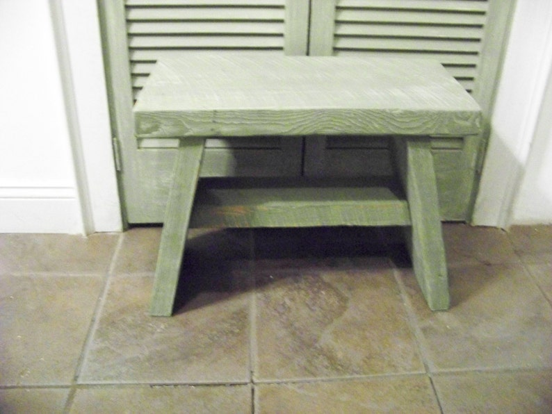 Sensational Bench Step Stool 15 Inches High 20 Inches Wide And 11 Inches Depth Gmtry Best Dining Table And Chair Ideas Images Gmtryco