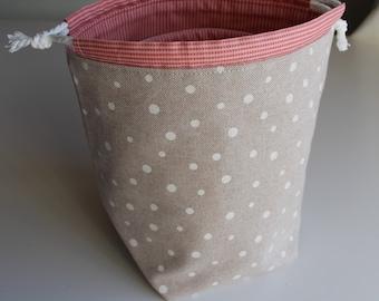 Sewing Pattern: Easy Drawstring Bag. Easy Nesting Buckets. 2 Pattern Bundle. PDF Download