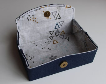 Sewing Pattern: Box style notions case. PDF Download