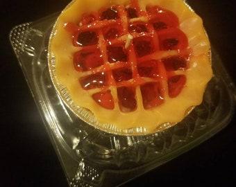 3' lattice country cherry  pie