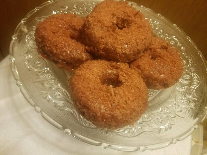 Apple Cinnamon  Donuts