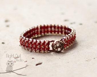 Bead Woven Bracelet