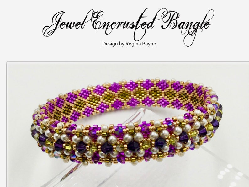 Jewel Encrusted Bangle image 0