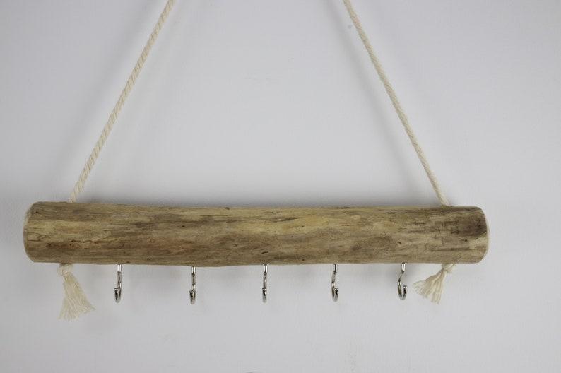 Dryer Hanger 5 Hooks Rope Plant Drying Hooks 10 Driftwood Mask Organizer Necklace Bracelet Jewelry Key Holder Hanging Drying Rack
