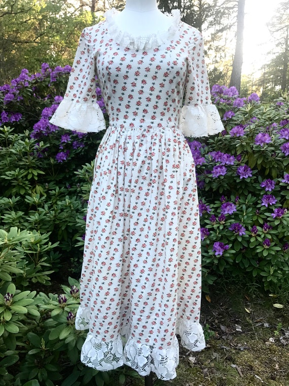 Vintage dream victorian inspired authentic 1970's