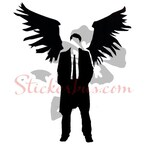 Personalized Supernatural Castiel Archangel Sam & Dean Winchester Decal Sticker