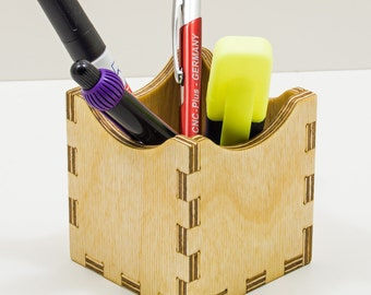 Desk Box Pens Holder *No.2