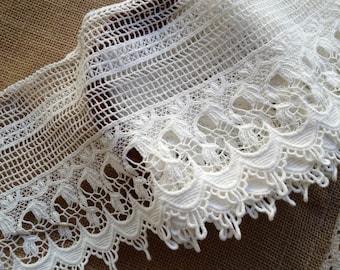 Crochet Lace Trim Etsy