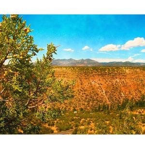 American Southwest Photography Print New Mexico Art Frijoles Canyon Art