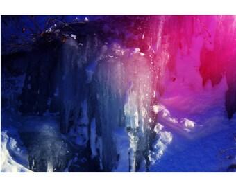"Modern Wall Art, Fantasy Art, Conceptual Photography, Surreal Winter Art, Limited Edition Print, ""Watts"""