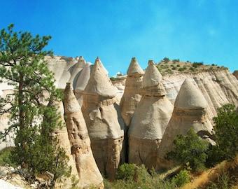 Kasha-Katuwe Tent Rocks National Monument, Southwestern Landscape Art