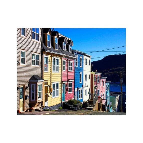 Jelly Bean Row >> Jelly Bean House Art Newfoundland Art Jelly Bean Row Art Prints St John S Art Newfoundland Photography Fine Art Prints Jellybean Row