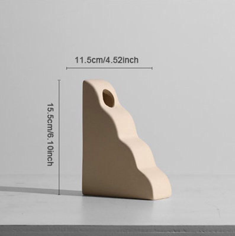 Beautiful Nordic minimalist ceramic vases