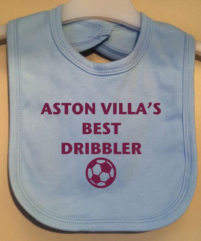 Baby Bodysuit Football Novelty Aston Villa