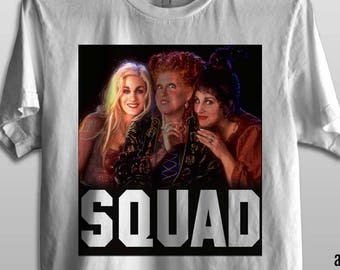 Hocus Pocus Squad - Premium Fashion Fit Men & Ladies Junior Cut Tee