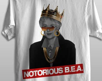 Notorious B.E.A Arthur - Golden Girls - Men & Ladies' Fashion Fit Tee