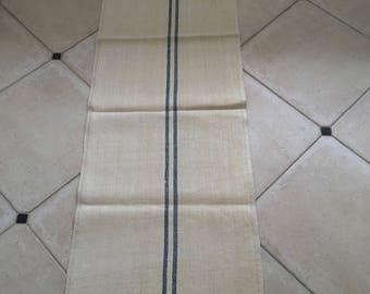 NS1242 Linen Blue Stripe Grainsack