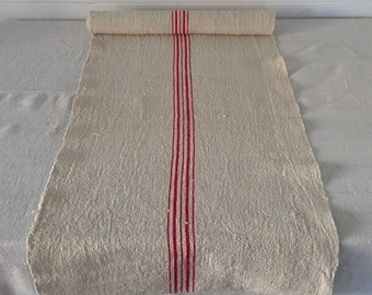 NLR1837 Natural Sandy Cream Vintage Table Runner One Piece