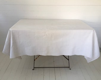 NTS1902 Cream Tablecloth /Sheet Linen for Tables