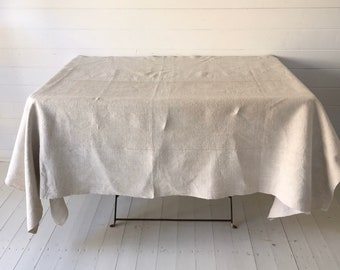 NTS2001 Stone/Sandy Tablecloth /Sheet Linen for Tables Upholstery Projects