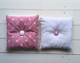 Pink Linen Lavender Pillows Bags