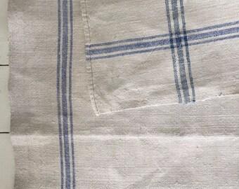 Blue Stripe Tea Towel Linen NTT1913