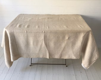 NTS2002 Limestone/Sandy Tablecloth /Sheet Linen for Tables Upholstery Projects