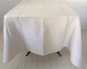 NTS1903 Cream Tablecloth /Sheet Linen for Tables