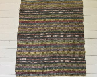 RR1832 Hungarian Hand Spun Vintage Natural Hemp Runner