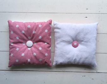 Pink Linen Lavender Pillows Bags