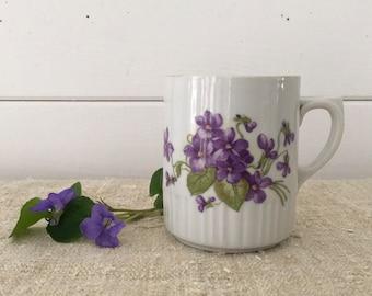 Hungarian Zsolnay Pottery Glazed Ceramic Stoneware Cup